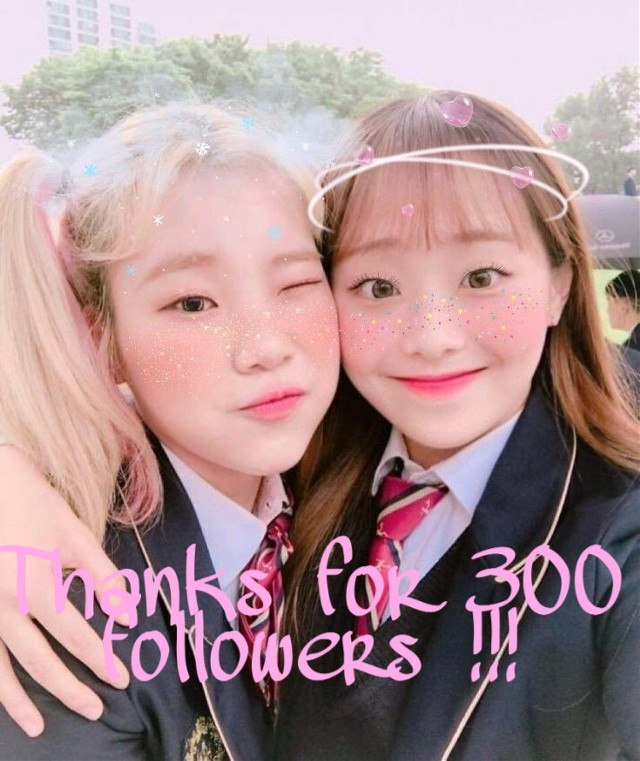 {OPEN PLEASE}  Thank you for this achievement, I never thought it was possible !! I still remember when I hit the 50 followers, and hitting this goal is wonderful !!! I would like to thank each one of you, I know I don't edit much, but the knowledge that there are people I love to support arrives. Thank you so much 💞💞💞  #chuu #jooe #chuuandjooe #loona #momoland