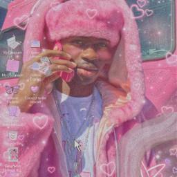 freetoedit lilnasx pink aesthetic