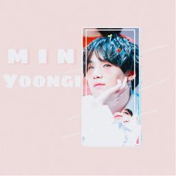 bts minmin minyoongi yoonyoon suga freetoedit