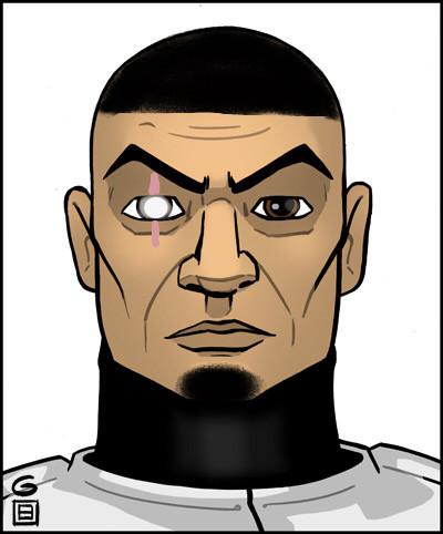 #clonewars #clonetrooper #starwars #87thsentinelcorps Unhelmeted heavy gunner Thyl of the 87th.