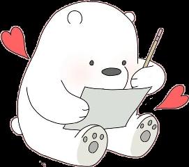 escandalosos polardeescandalosos polar osopolar rojo freetoedit schearts hearts
