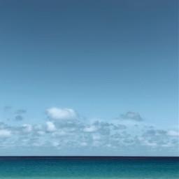 nature seaview horizon bigsky skyandclouds freetoedit