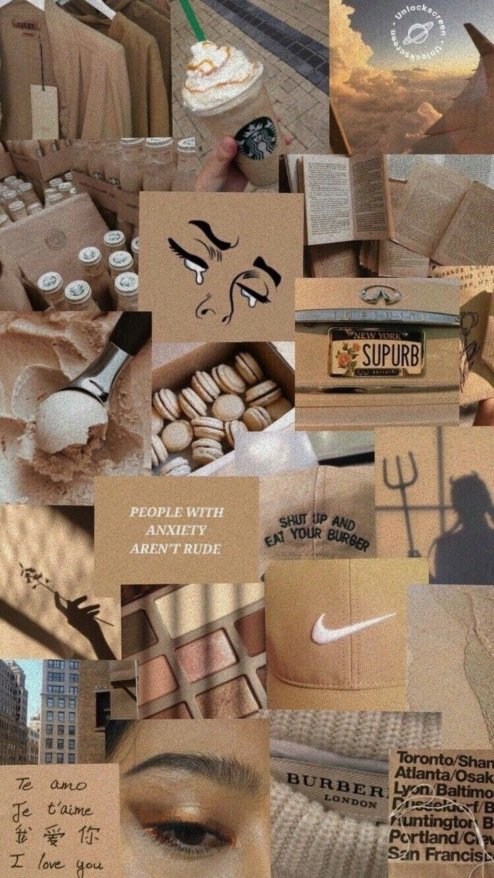 Aesthetic Collage Wallpaper Image By Jacquez Astrid26