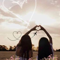 freetoedit friends love goodtimes heart