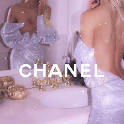 chanel dress sparkles model dior