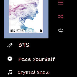 bts musicplayer faceyourself crystalsnow chill freetoedit