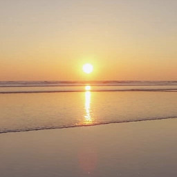 sunsettime goldenhour beachscenery lowtide thesunsetting freetoedit