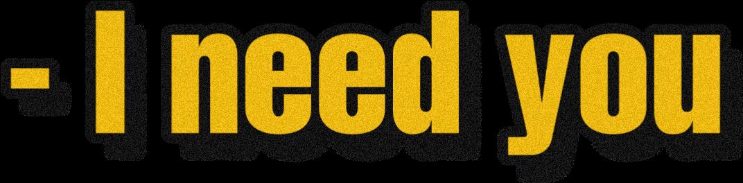 #ineedyou #textstickers #textaesthetic #aesthetic #frase #tenecesito #frasedeamor #love #yellow #black #amarillo #negro