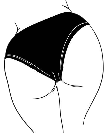 #freetoedit #@wickedlywonderland #picsart #sticker #stickers #new #ass #butt #booty #sexy #black #panties # lingerie #girl #female #girlsass #dumper #straightline
