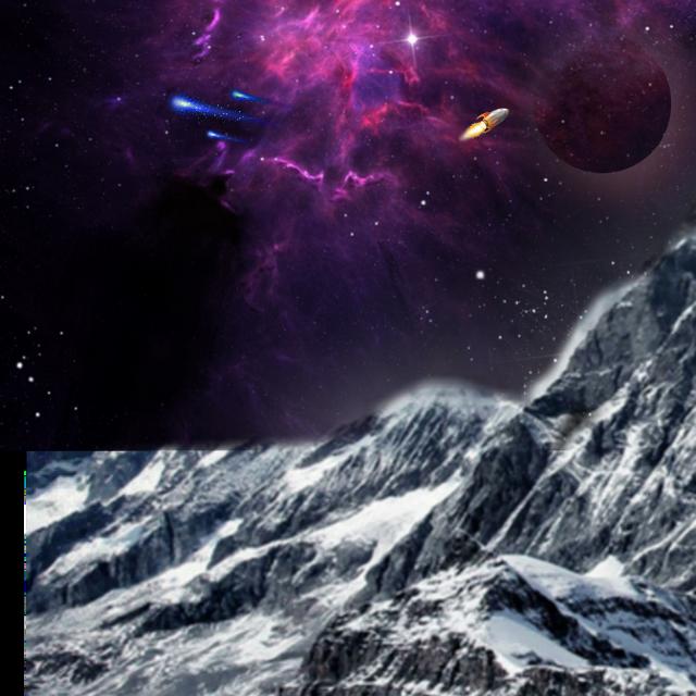 #freetoedit #space #rocket #night