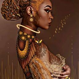 freetoedit african dark culture ecneonswirls