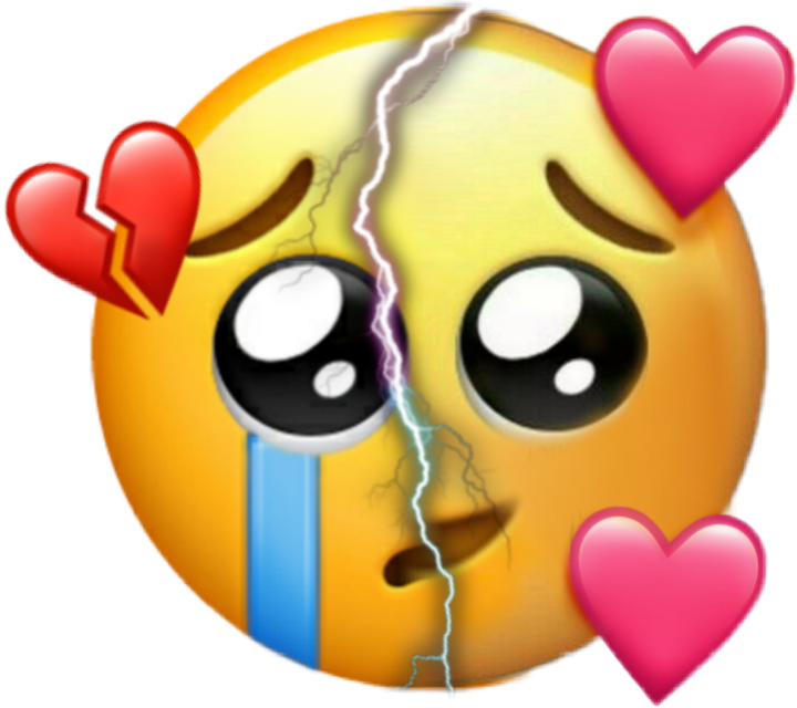 #love #broke #emoji #eclair #2