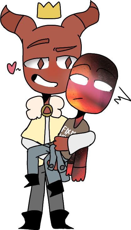 Oh no the gays are bacc   #zackxrex #zack #rex #gays #gayship #gayshit #ocs #crown #gaylove #skootles #the_queenz
