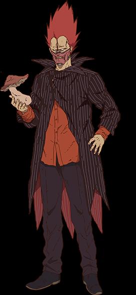 #dorohedoro #en #anime #animeboy #redhair #kinoko #mushroom #magician