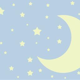 sky stars moon background backgrounds freetoedit