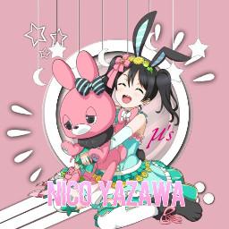 lovelive niconiconii nicoyazawa animegirl freetoedit