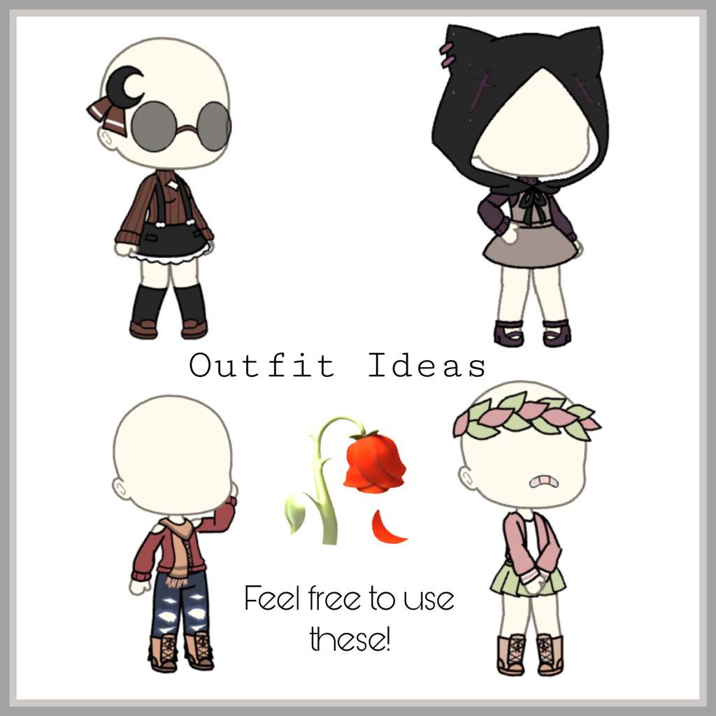 Outfits Edits By Gachalife Image By Sadbitch