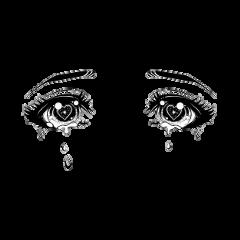 freetoedit eyes anime sad suicide