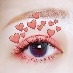 freetoedit eye makeup aesthetic emojicrown echeartcrowns heartcrowns