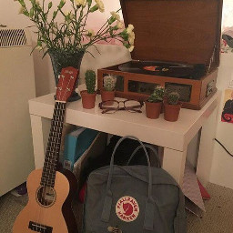 aesthetic guitar kanken vinyl room freetoedit