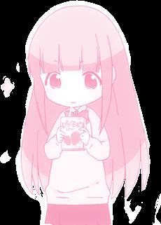 #Animegirl #Cute #PinkManga