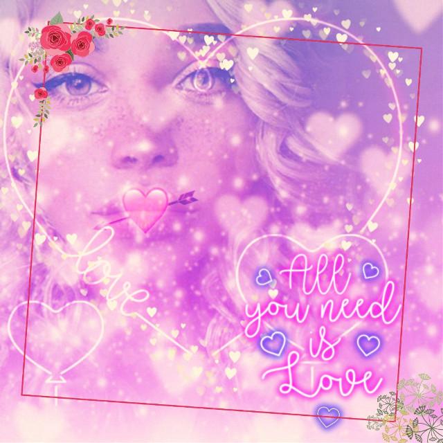 #freetoedit #ValentinesDay #hearts #pink #springfloralframes #heartbrush