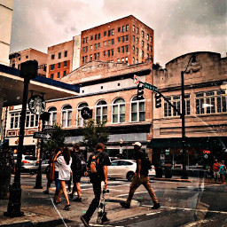 freetoedit city life cool buildings street people busy