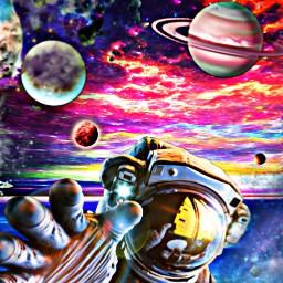 freetoedit colorfulworld digitalarts galaxy planets
