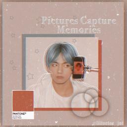 taehyung bts btstaehyung taetae v kimtaehyung peach aesthetic grudge blue pastle cute remixit freetoedit