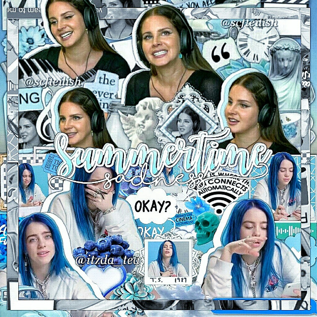 ~°•[ collab with @itzda_tea ]•°~  [info] 💫↣edit type | complex/collab ❄↣ celeb | lana del rey & billie eilish ✨↣ time taken | a long time lmao 💌↣ follower count | 10.2k (tysm!!) 🐚↣ contests |   💒↣ credits | credits to whoever made the overlays i used for the background 🍭↣ fonts | october twilight and shoreline script  ---------♡---------  [extra] 🌹↣ random shoutout | idk 📍↣ notes | YAYAY I FINALLY COLLABED WITH THE BEST EDITOR EVER AND THE QUEEN ARIA AAA ILYSM IM SO HAPPY I COLLABED WITH U  ---------♡---------  [fan accounts] 🌷↣ ilyasm | @scfteilishfan @_billieslostavofan_ @_browslostavocado_ @_browsavocado_ @browslostavocado @browskermit  ---------♡---------  [other accounts] ☁↣ aesthetic | @turnoffthelights_ 🌸↣ backup | @scfteilish- 💎↣ memes ig | @monkeybrow  🎀↣ manipulation | @-myluciferislonely 🍁↣ pinterest | @scfteilish 🍒↣ discord | browjoe# 5627 💞↣ instagram | @/bcydivisiion & @/lvnxriiaa_  ---------♡---------  [tags] 💘↣ comment '🎁' to be added | @clusterrhug @doms-pink-socks @awhashley @jesserutrfrd @smol_argent @bocabear @dcydrvmn @billiesavocadoishere @lexi_19 @awhkylie @iisadxvibesii @-billiemybaby- @lomlcottrill @stqr-wqrs @blushygrande @milliexsadie @butterflyswift @fancybutera @blvsheditss @awhmulti @lomlcottril @editingeilish @wdw_music @just_mee_ @scftpewds @brcathin @bqca @theyellowlight @cloudymills @billsbibbles @mymotionlessromance @lava_20 @martinimel- @aesthetic_billie @edit_queeninthehouse @bbeanieeilish @mccnliqht- @_mythic_bitch_ @milliedreams @s0phtycss @aestheticalls @lcvleybqca--  ---------♡---------  [hashtags] 🌻↣ #lanadelrey #billieeilish #collab #complexedit #freetoedit
