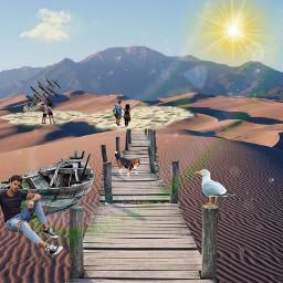 unsplash freetoedit drybeach desert surreal