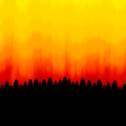freetoedit sunset forest colors pinetree