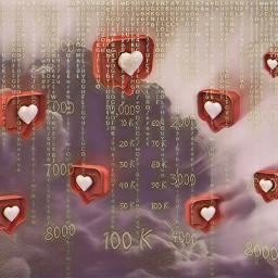 numbers followers emotions likebubble hearts freetoedit srclikebubble
