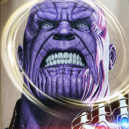 freetoedit thanos avengers movies character srcneoncircle neoncircle