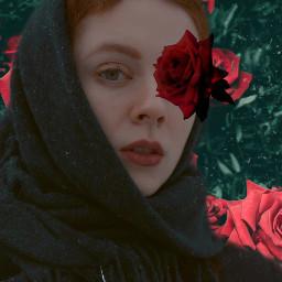 freetoedit woman rose