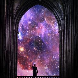 freetoedit snoriginals space view boy