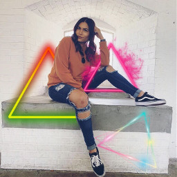 freetoedit shapes neon background