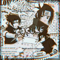 sasuke naruto anime complex overlay freetoedit