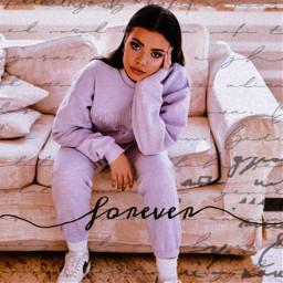 lexy lexychaplin girl forever lavender freetoedit