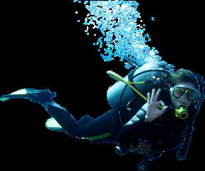 diver underwater freetoedit