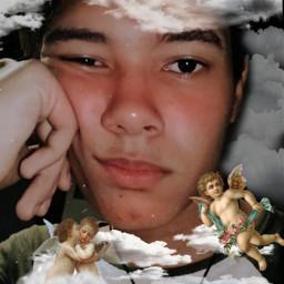 freetoedit clouds heaven angels myangels