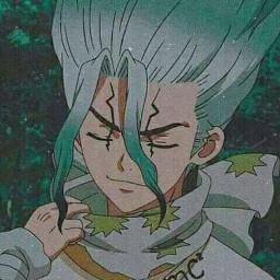 freetoedit dr.stone senku anime dr