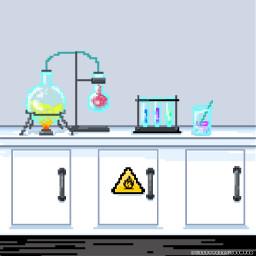 freetoedit science lab chemistry flasks