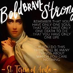 freetoedit saintteresaofavila womensday