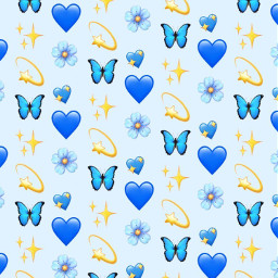 vsco emojis iphoneemojis blue freetoedit