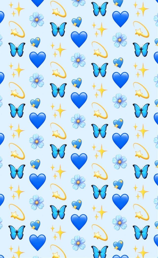 #vsco #emojis #iphoneemojis #blue #freetoedit @PicsArt