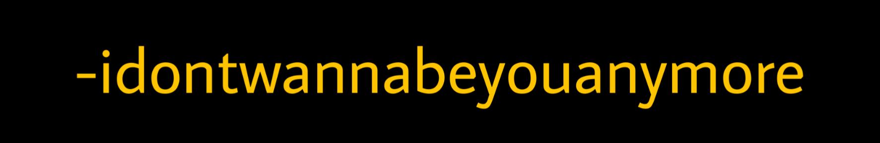 #billieeilish #billieeilishsticker #idontwannabeyouanymore #freetoedit #quote #yellowquote #tumblrquotes #sticker #quotes