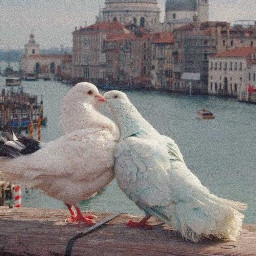 ethereal romantic lovecore love pigeons