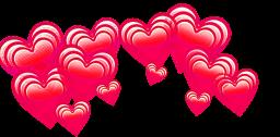 сердечки надголовой freetoedit