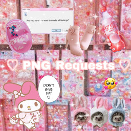 png pink pinkaesthetic wholesome soft freetoedit